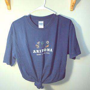 Arizona Embroidered T shirt